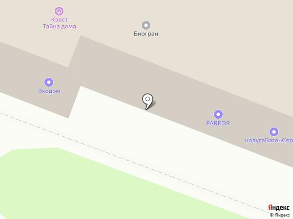 SALEROOF на карте Калуги