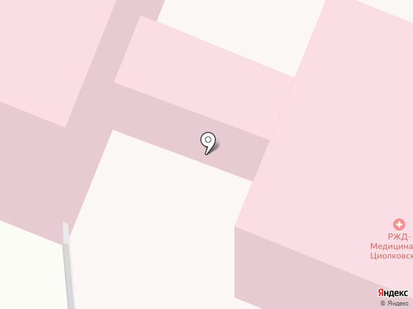 Поликлиника на карте Калуги