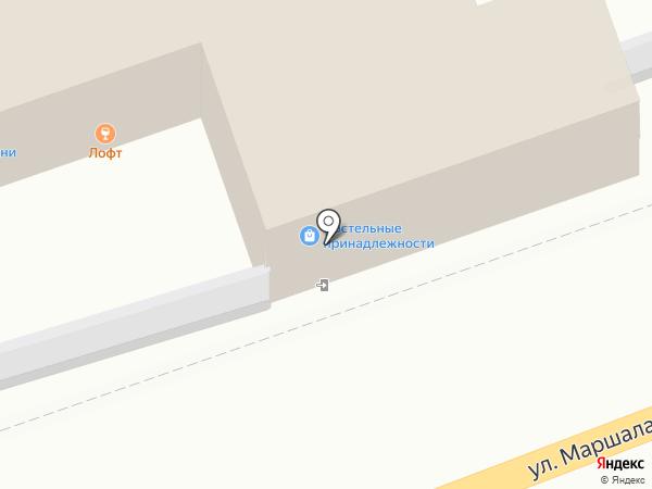 Магазин постельных принадлежностей на карте Калуги