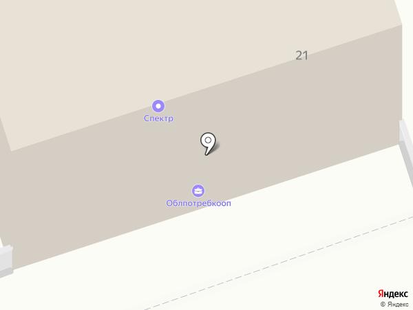 Праздничный на карте Калуги