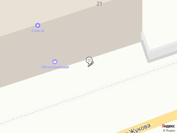 Облпотребкооп, ПО на карте Калуги