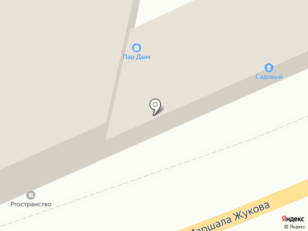 Пенный на карте Калуги