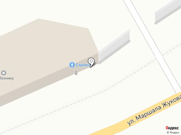 САДОВЫЙ на карте Калуги
