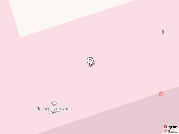 Городской родильный дом на карте Калуги