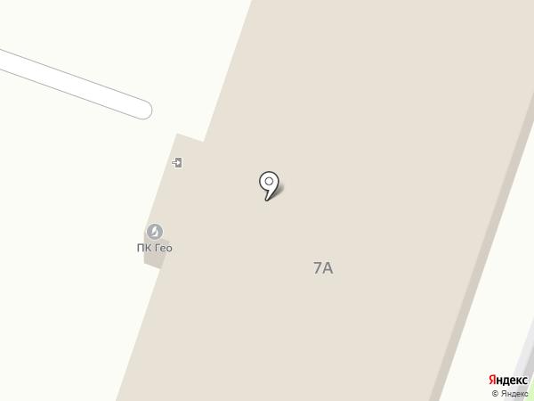 ГЕО, ПК на карте Калуги