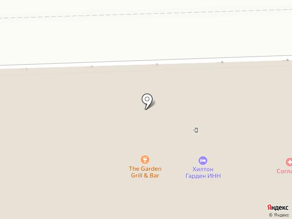 Hilton Garden Grill & Bar на карте Калуги