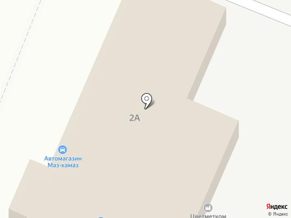 Роса на карте Калуги