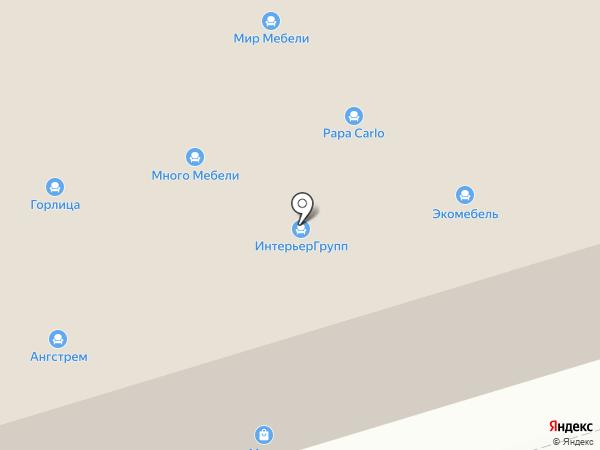 Мир мебели на карте Калуги