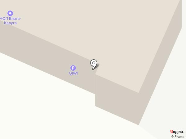 Структура безопасности на карте Калуги