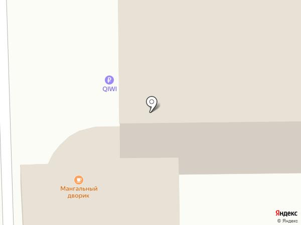 Лютик на карте Калуги