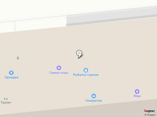 Магазин товаров для рыбалки на карте Калуги