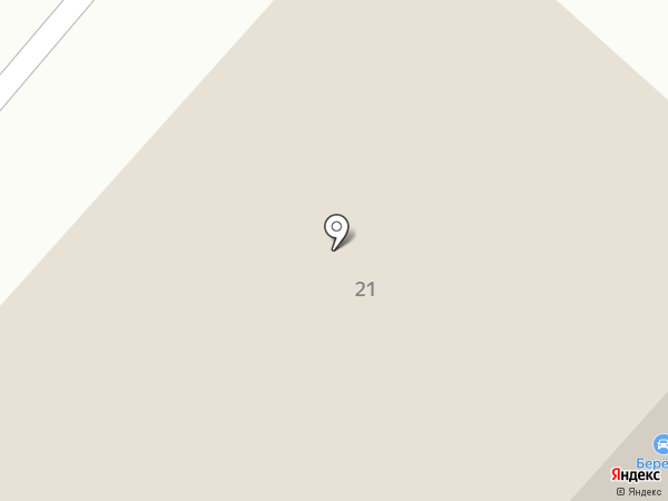 Абриколь на карте Калуги