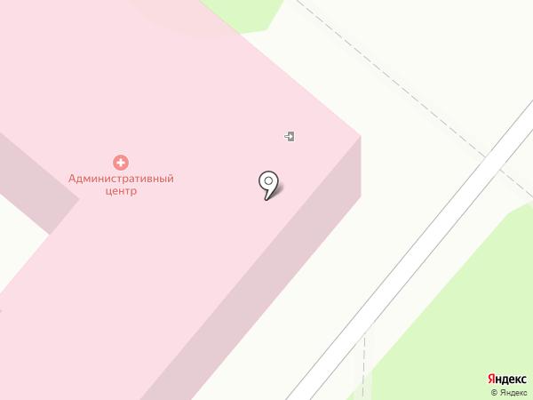 Калужская городская больница №4 им. А.С. Хлюстина на карте Калуги
