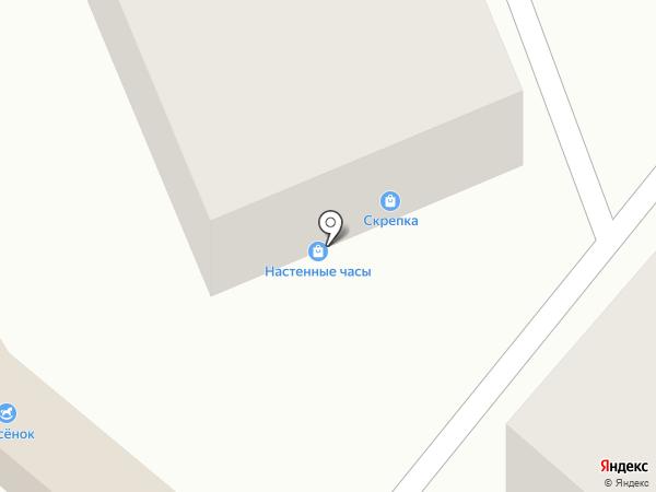 Кладовка на карте Калуги