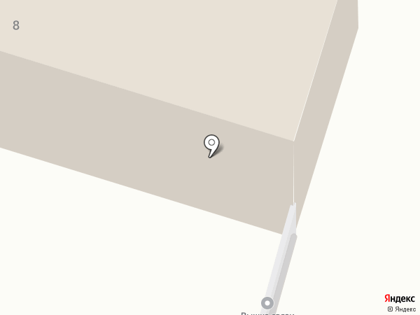 Калужский двор на карте Калуги
