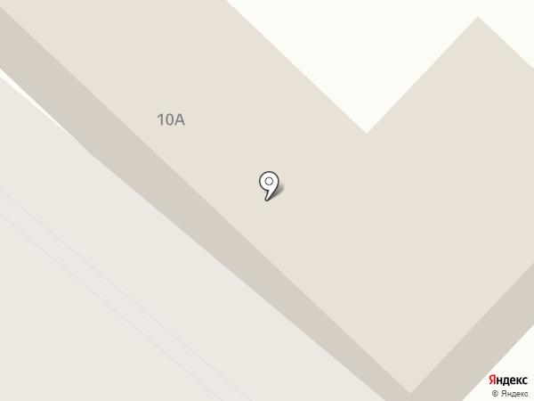 Бригантина на карте Калуги