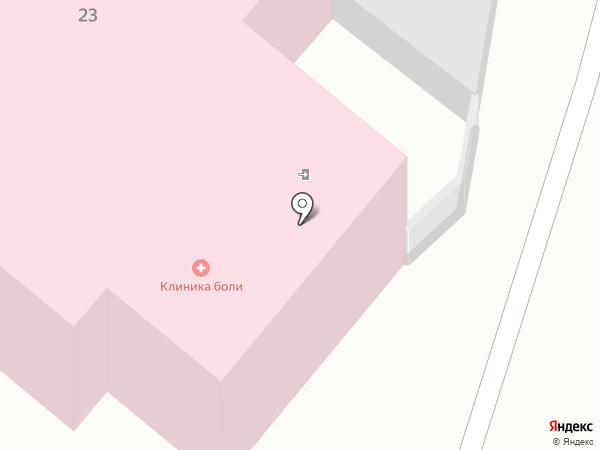 КАЛУЖСКАЯ КЛИНИКА БОЛИ на карте Калуги