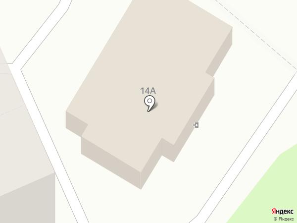 Теремок на карте Калуги
