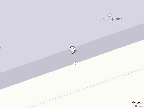 Калужский водонос на карте Калуги