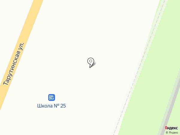 Чайка на карте Калуги