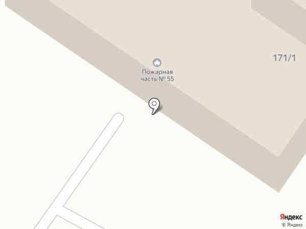 Пожарная часть №55 на карте Калуги