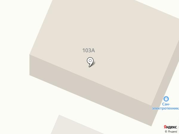 Автосервис на Тарутинской на карте Калуги