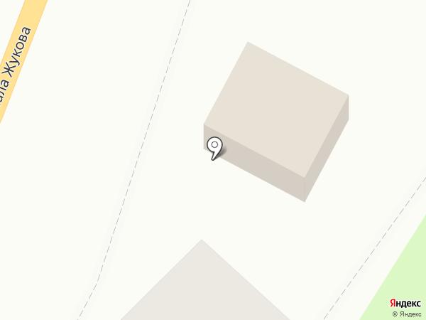 Магазин крепежа и электрики на карте Калуги
