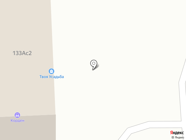 Корден на карте Калуги