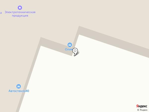 Автоклиника на карте Калуги