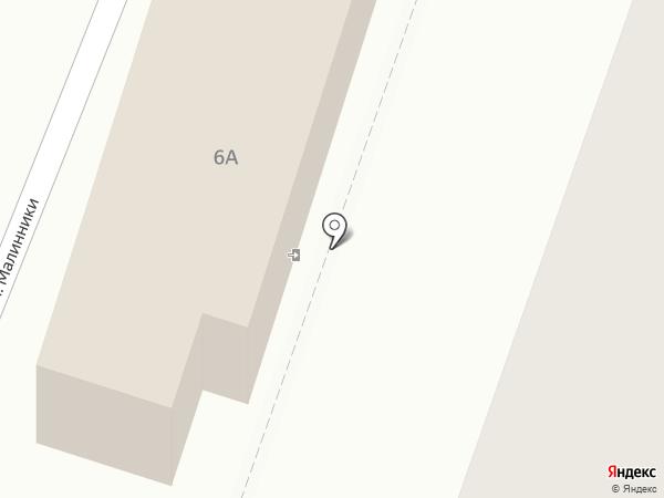 Стриж Ка на карте Калуги