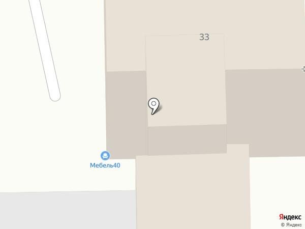 РИЦ на карте Калуги
