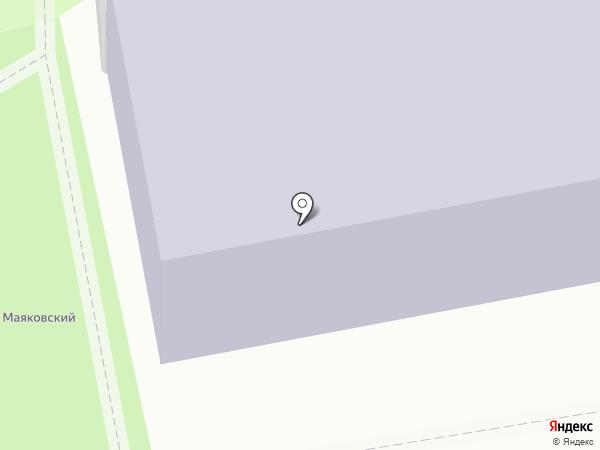 Макаронная фабрика Макрона на карте Калуги