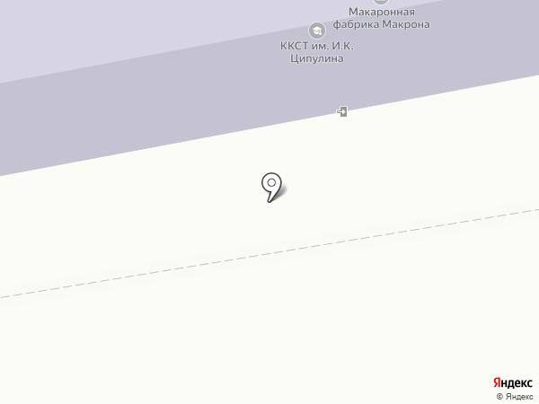 Калужский коммунально-строительный техникум им И.К. Ципулина на карте Калуги