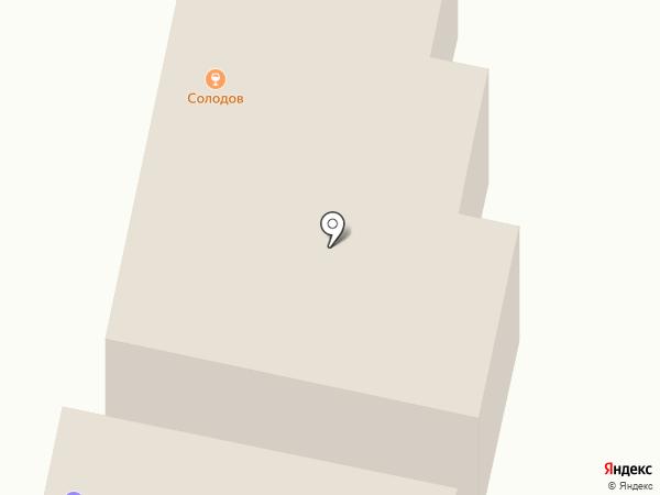 Глобус на карте Калуги
