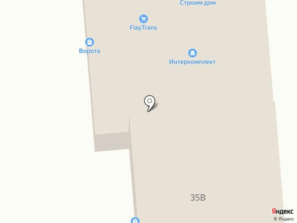 Пластик на карте Калуги