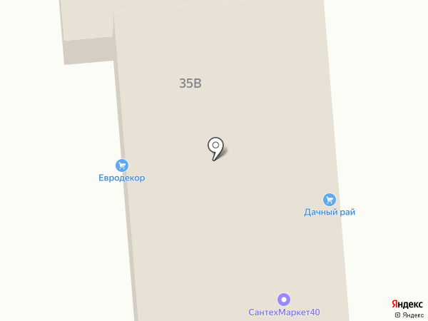 Сантехмаркет40.рф на карте Калуги