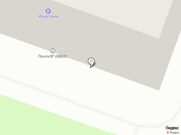 Почтовое отделение №25 на карте Калуги