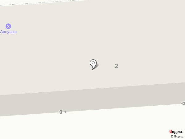 Аннушка на карте Калуги