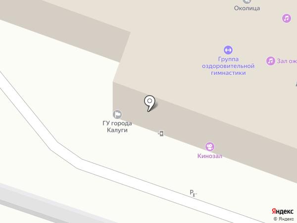 Малинники на карте Калуги