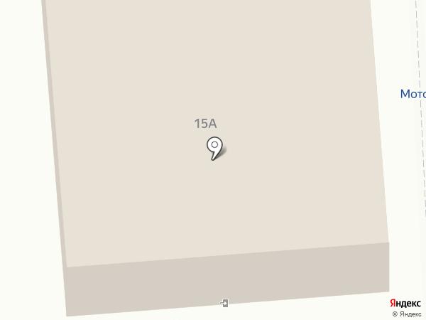 Машенька на карте Калуги