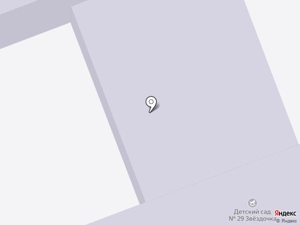 Детский сад №29 на карте Калуги