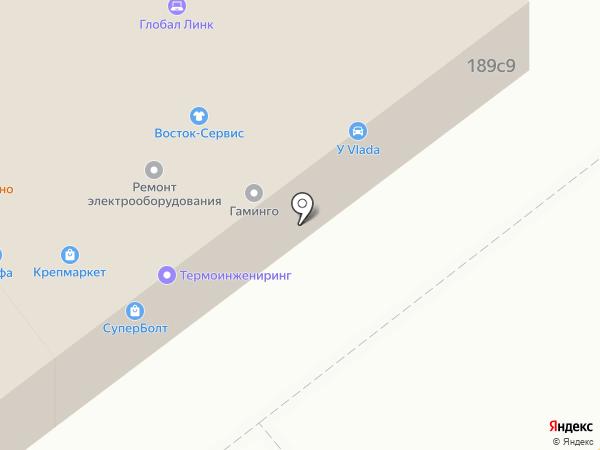 Магазин электрики и светотехники на карте Калуги