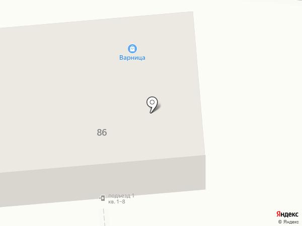 Магазин продуктов на карте Калуги