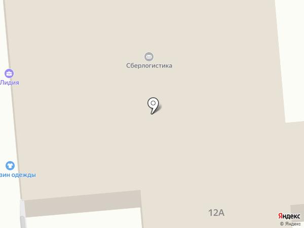Магазин женской одежды на Моторной на карте Калуги