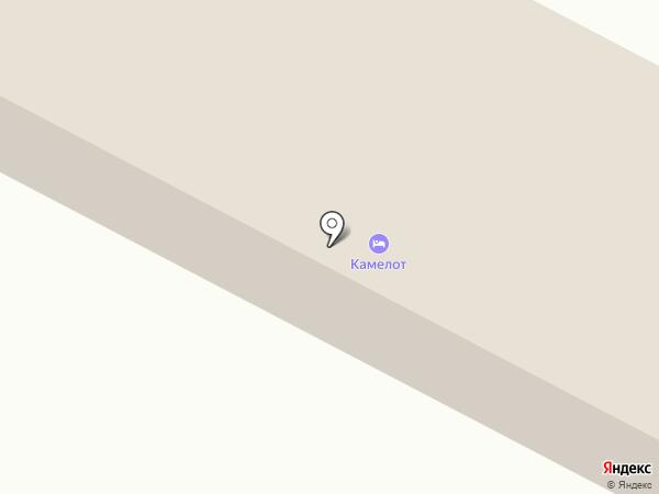 Камелот на карте Калуги