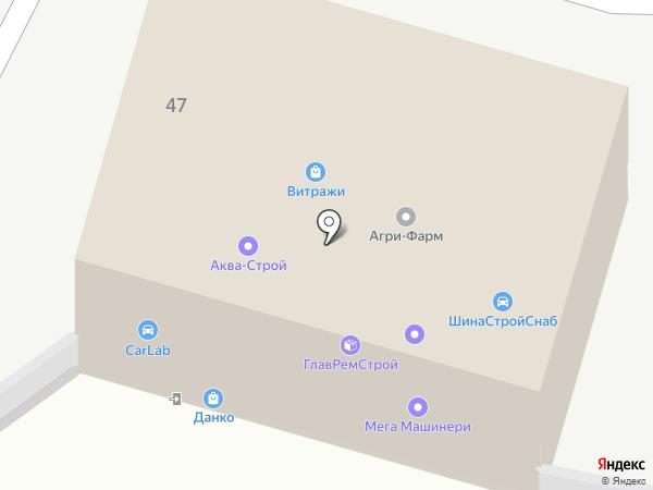 КАЛУЖСКОЕ УПРАВЛЕНИЕ МЕХАНИЗАЦИИ СЕЛЬСКОГО СТРОИТЕЛЬСТВА на карте Калуги
