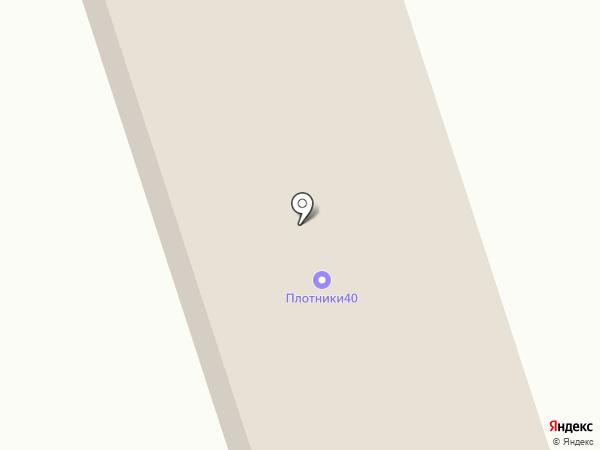 Грибов С.А. на карте Калуги