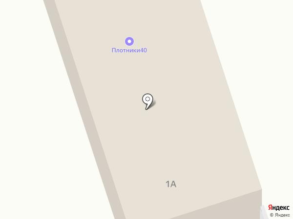 Александрит на карте Калуги