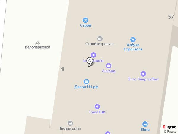 Протек, ЗАО на карте Калуги