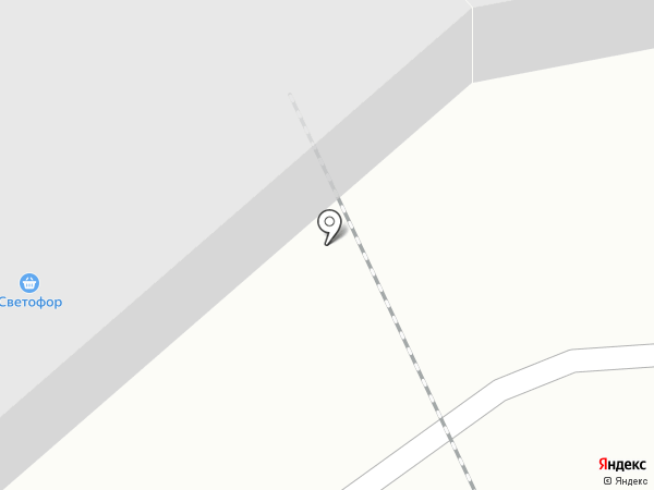 Светофор на карте Калуги